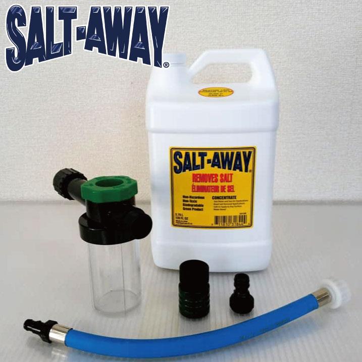 おすすめ ソルトアウェイ エンジンフラッシングパッケージ 正規逆輸入品 3784ml SALTAWAY YAMAHA用 塩害腐食防止剤
