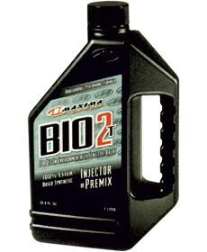 BIO2T バイオ2T 混合分離兼用 【 2サイクルオイル 1L×12本 】 MX-2701 MAXIMA エンジンオイル 2ストローク