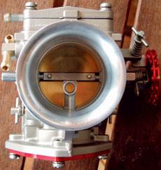 レーシング キャブレター インナー ベンチュリー システム シングル 【 49mm 】 CH014-49 CrazyHouse 【受注生産品】 PWC