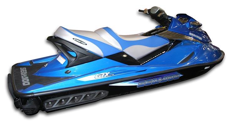 シートカバー  SEADOO シードゥー GTX (07-09) / GTX-L (08) グレイ/ブラック JETSKI ジェットスキー HYDROTURF ハイドロターフ