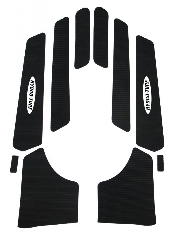 ハイドロターフ デッキマット ダイヤ ブラック シール付き  YAMAHA XLT XL-L800 1200