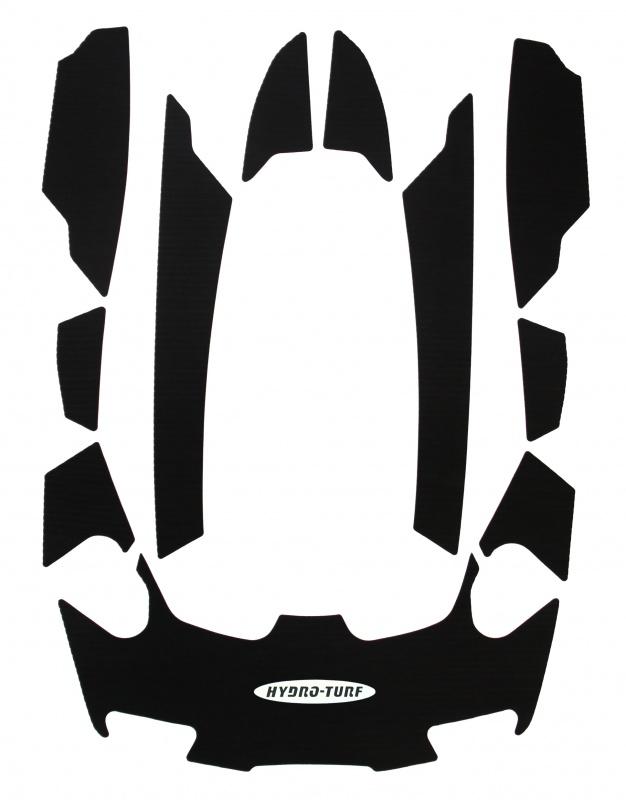 ハイドロターフ デッキマット  SEADOO RXTis/asシリーズ ダイヤ単色ブラック限定 【3Mシール付】