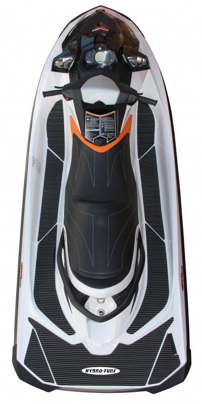 ハイドロターフ デッキマット  SEADOO GTR230・215 / GTi150・130シリーズ ダイヤ単色ブラック限定【3Mシール付】