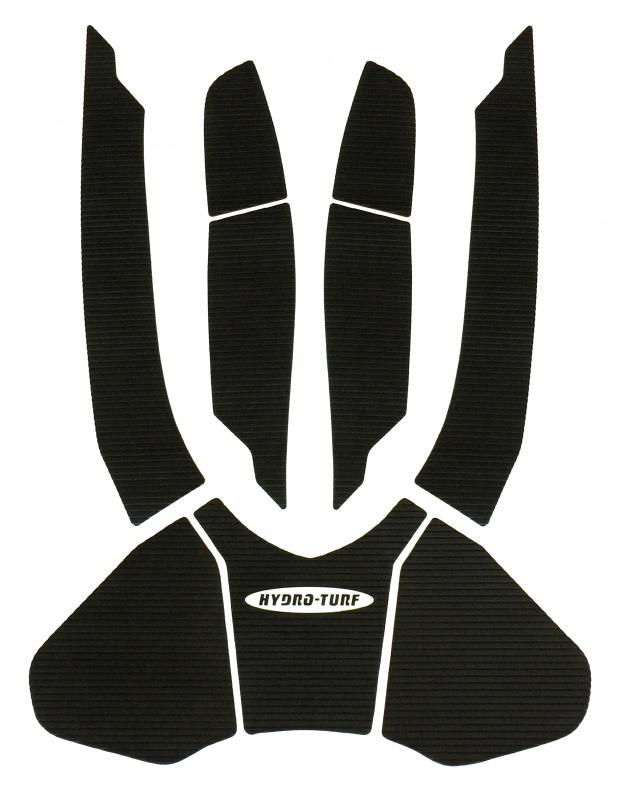ハイドロターフ デッキマット GTX-L300/GTX155 ('16-'17) ダイヤ ブラック単色 HT-886DBKP 【3Mシール付】 SEA-DOO
