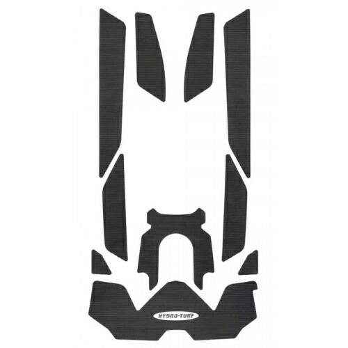 ハイドロターフ デッキマット GTX-L300 ('18) / GTX155 ('18) ダイヤ ブラック単色 【3Mシール付】 SEA-DOO