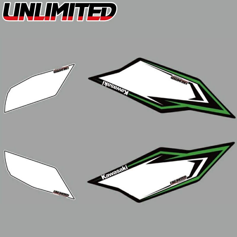 UNLIMITED ULDK-ULTRA-FR UNLIMITED デカールキット ULTRA ゼッケンシート フロント&リア ジェットスキー 水上オートバイ JETSKI PWC アンリミテッド
