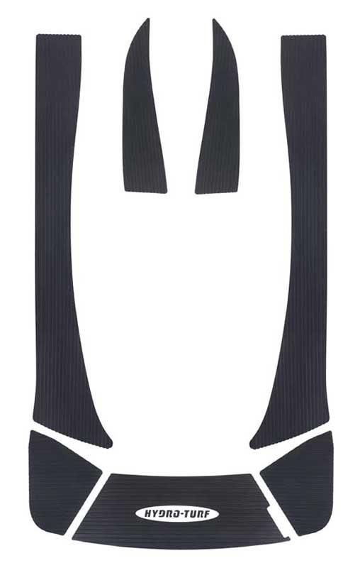 KAWASAKI ハイドロターフ デッキマット 【 STX160LX/160X 】 ダイヤブラック単色 HT-642DBKP 【3Mシール付】 カワサキ
