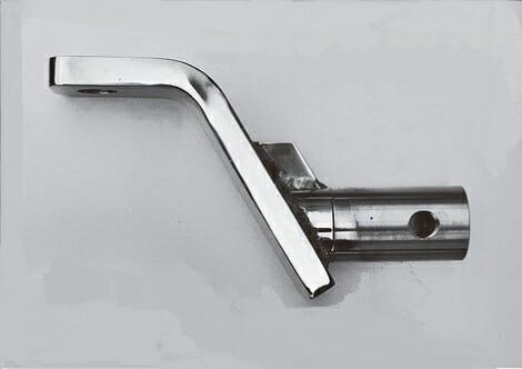 ヒッチ ボールマウント スラント型 ステンレス 丸パイプ 長さ175mm ライズ110mm 0212-01 タイトジャパン TIGHTJAPAN