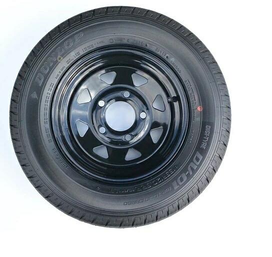 TIGHT JAPAN  トレーラー用 タイヤ 【 155 5穴 】  タイトジャパン MAX トレーラー 0501-00  【送料別途品】