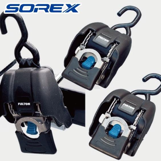 トランサムタイダウン 2個セット 【 ステンレス製 】 SRX-115S-02 SOREX ソレックス FULTON フルトン