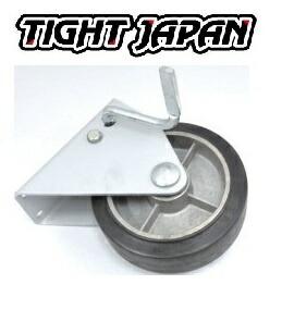 ステンレス ストッパー トレーラージャッキ 用 タイヤ&ベース 0702-11 タイトジャパン ボートトレーラー トレーラー部品