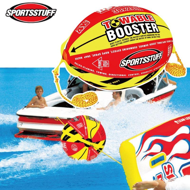 スポーツスタッフ BOOSTER BALL ブースターボール トーイングロープ トーイングチューブ バナナボート ゴムボート sportsstuff 引っ張りもの