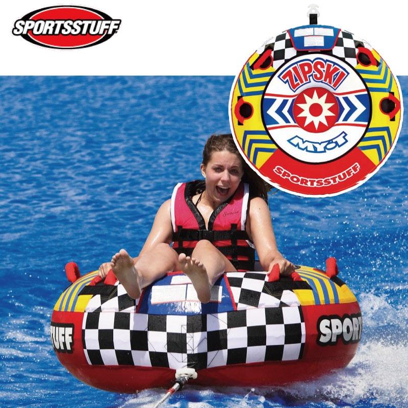 【SALE】 スポーツスタッフ ZIP 1名 SKI ジップスキー 1名 ゴムボート バナナボート ゴムボート 24171 ドーナツ型 浮き輪型 トーイングチューブ バナナボート SPORTSSTUFF, 弓戸人形:1bcc3327 --- totem-info.com