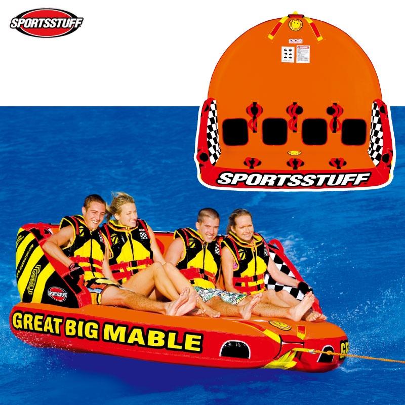 スポーツスタッフ GREAT MABLE グレートマーブル 定員4名 ゴムボート 31906 SPORTSSTUFF バナナボート ウォータートーイ トーイングチューブ