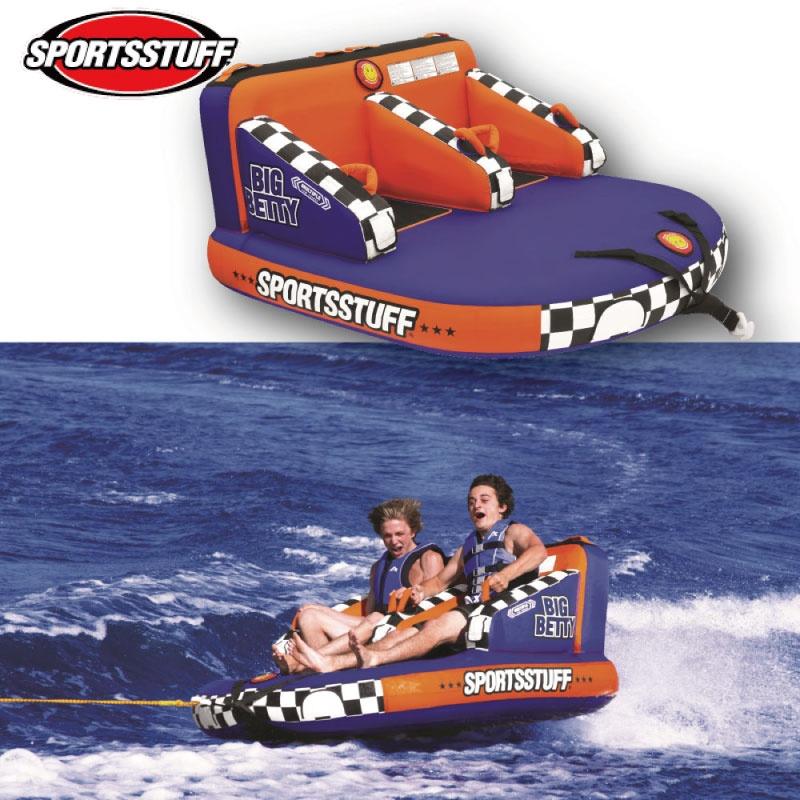 【プレゼント付】スポーツスタッフ BETTY ベティ 2名 ゴムボート37030 sportsstuff バナナボート トーイング チューブ WATERTOY 水上バイク ボート