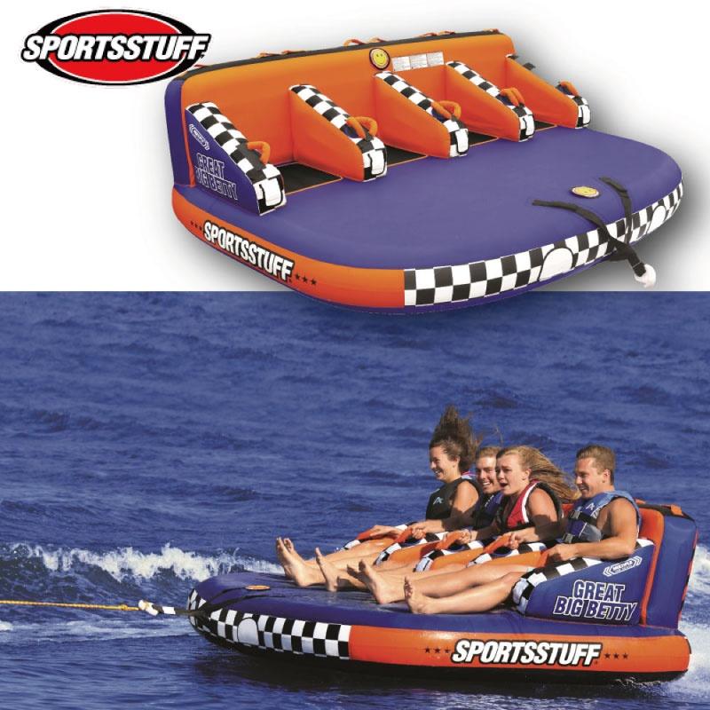 スポーツスタッフ BETTY ベティ 4名 ゴムボート 37032 sportsstuff バナナボート トーイング チューブ WATERTOY 水上バイク ボート