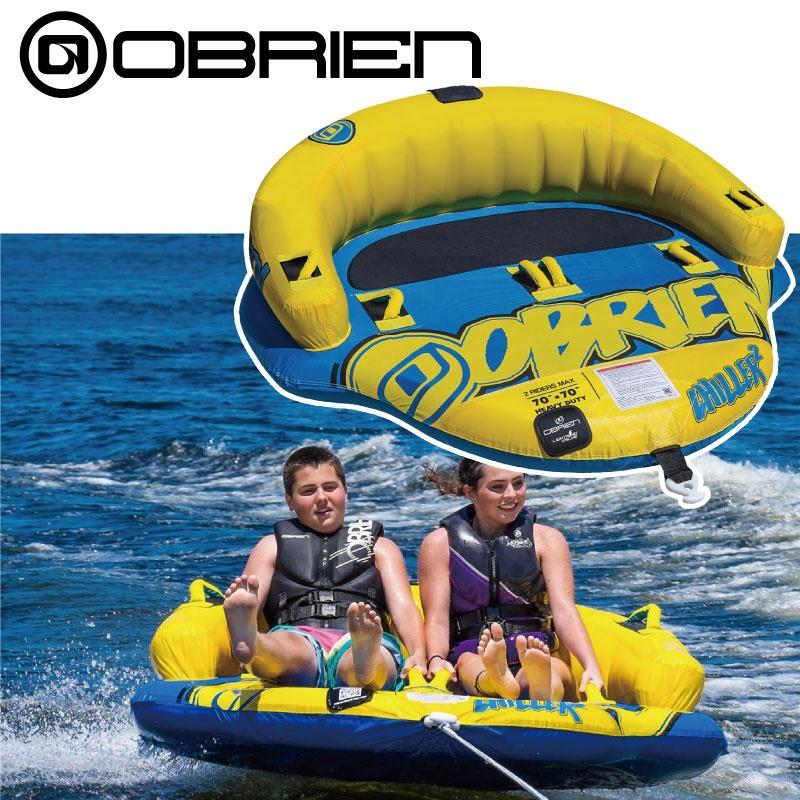 オブライエン CHILLER チラー 2名 39136 ウォータートーイ トーイングチューブ バナナボート O'brien OBRIEN 水上バイク ボート ゴムボート