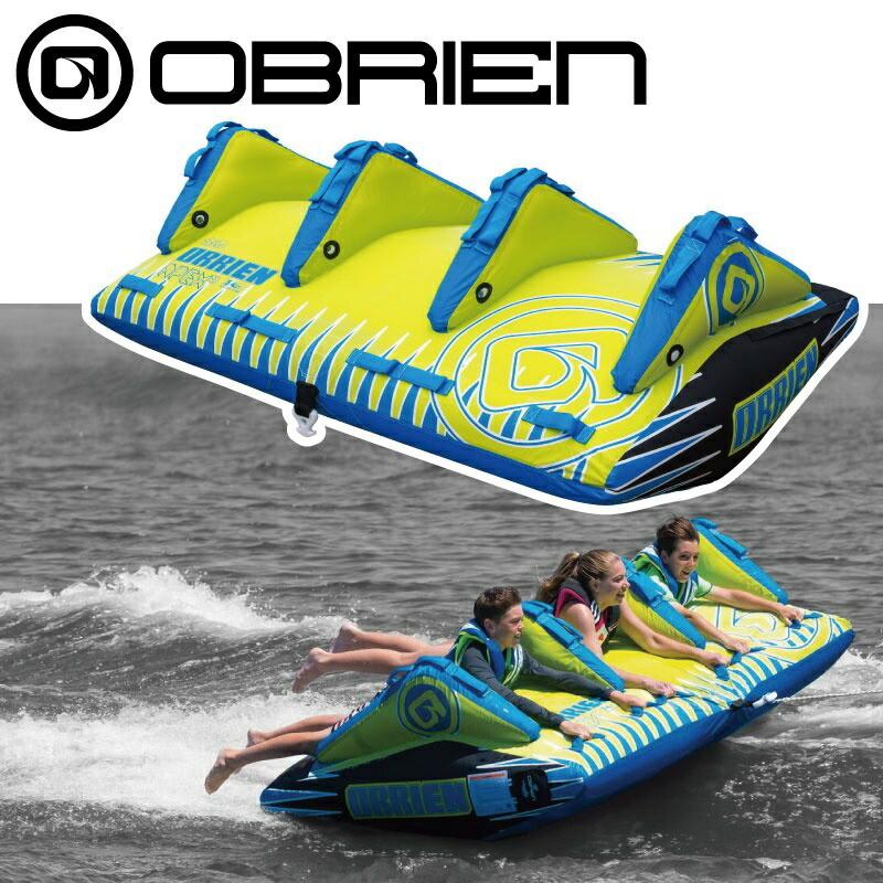 【プレゼント付】 オブライアン APEX 定員3名 ゴムボート 39768 ウォータートーイ トーイングチューブ バナナボート OBRIEN