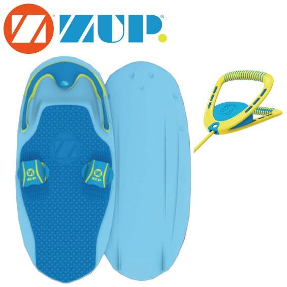 3/20発売開始 【2019新作】ZUP Board ザップ SILVER ボード&ハンドルラインセット 40830 バナナボート ウエイクボード サーフ トーイング