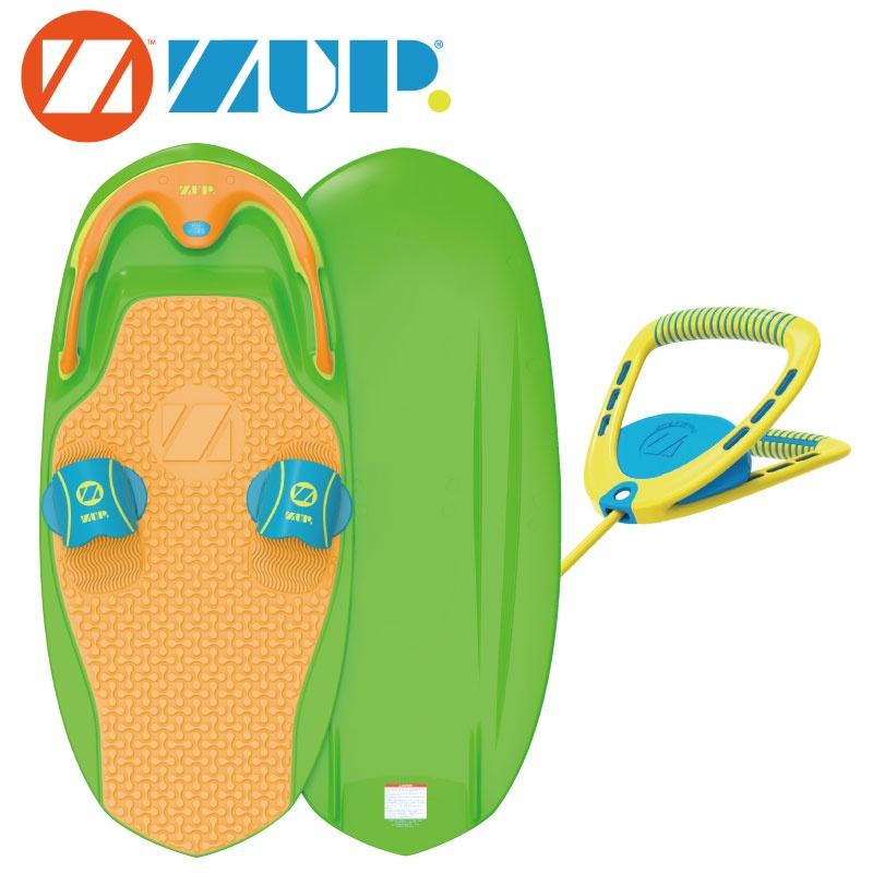 ZUP BOARD2 ザップボード2 グリーン×オレンジ ボード&ハンドルセット 39694 トーイング ウエイク サーフィン 水上オートバイ