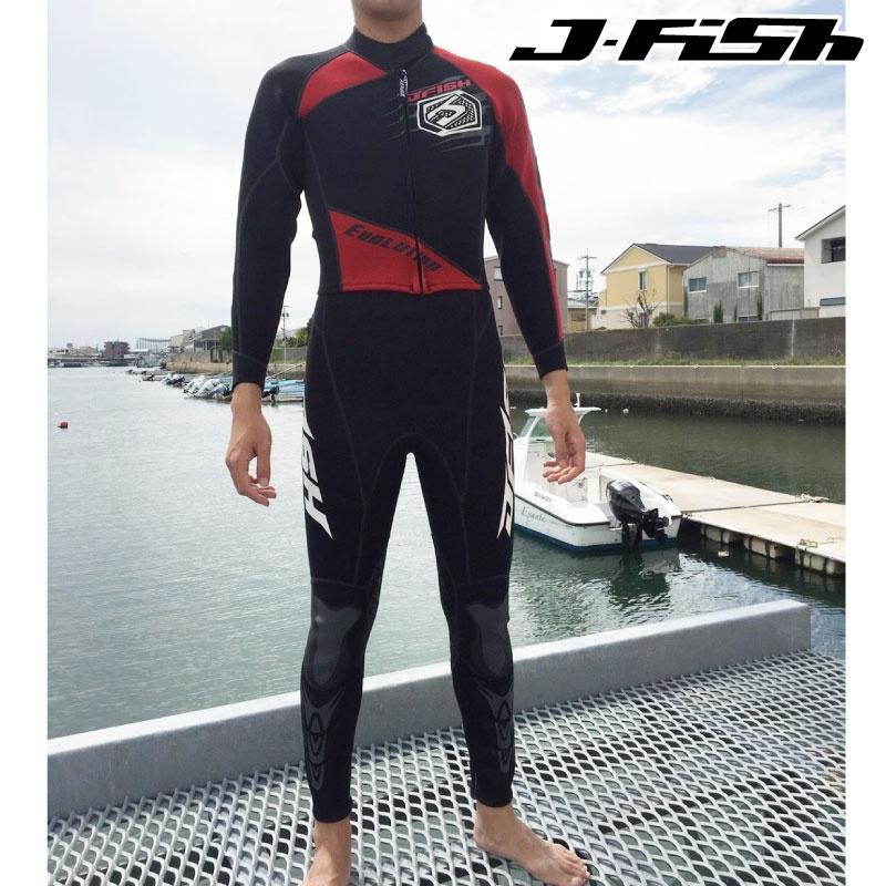 【SALE】ジェイフィッシュ ウエットスーツ エボリューション EVOLUTION JWS-371 メンズ 最上級モデル ジェットスキー 水上バイク J-FISH