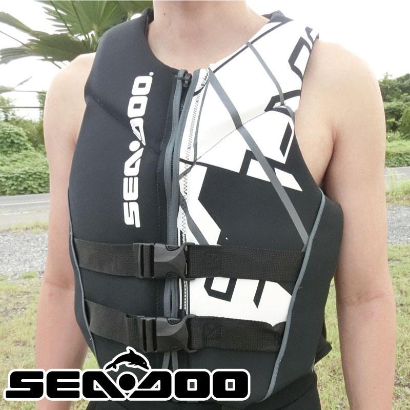 ライフジャケット メンズ FREEDOM PFD フリーダム ネオプレンベスト PWC 水上オートバイ ウエイクボード 予備検査 SEADOO シードゥ