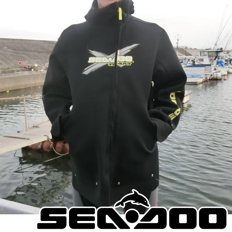 【値下げ】 X-TEAM ネオプレン ライディングジャケット SAE DOO マリンコート ウエットスーツ 水上オートバイ ジェットスキー 286552 正規品