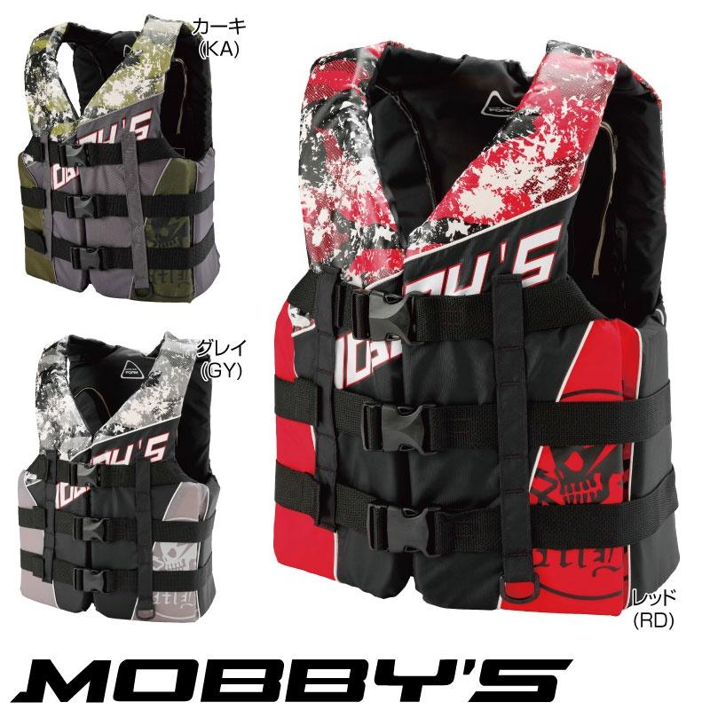 【2018新作】モビーズ ライフジャケット メンズ フロントバックル JA-740 コーストガード JCI検査OK ジェットスキー 水上オートバイ 男性