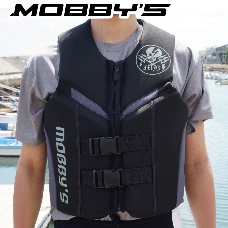 【SALE】モビーズ ライフジャケット メンズ フロントファスナー ネオプレン JA-74 コーストガード JCI検査ジェットスキー 水上オートバイ 男性