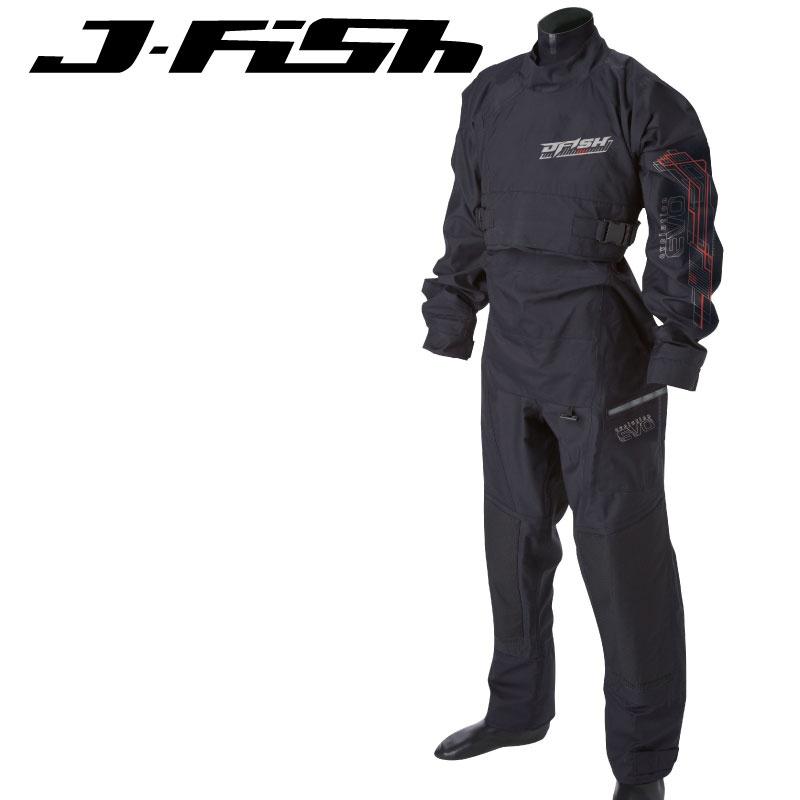 【新作】ジェイフィッシュ エボリューション ドライスーツ ソックス 胸ファスナー 小用ファスナー  ジェットスキー 水上バイク  ウエイクボード