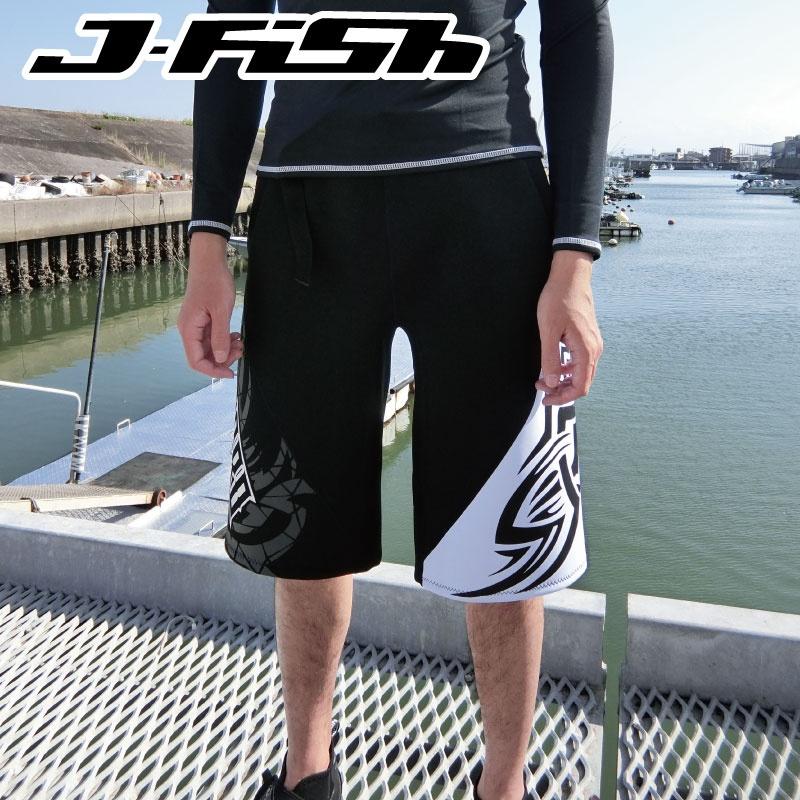 【SALE】ジェイフィッシュ JJT38 人気 プロ フリースタイルトランクス ハーフ ネオトランクス ウェットスーツ ボードショーツ 海パン
