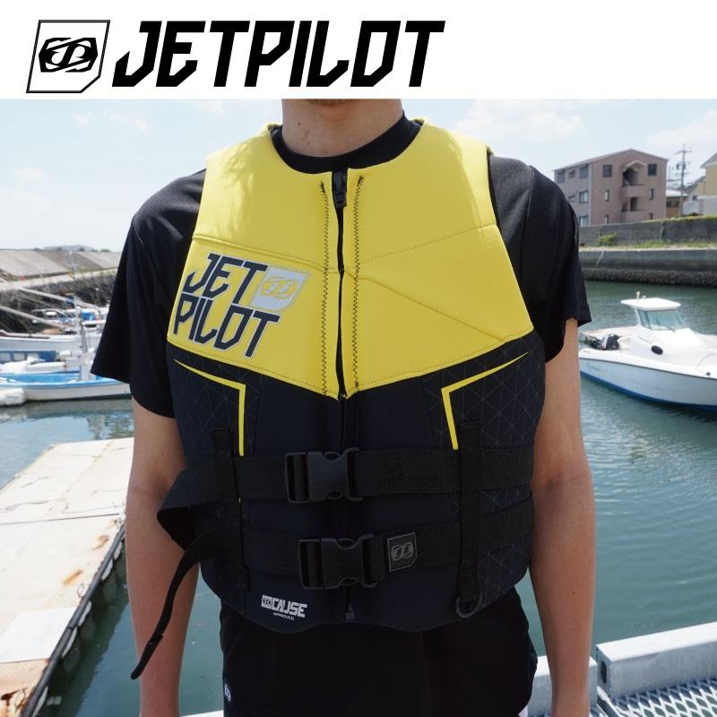 【SALE】JP8218 ジェットパイロット THE CAUSE ネオベスト JCI認定品 メンズ ライフジャケット Jetpilot ジェットスキー ウエイク