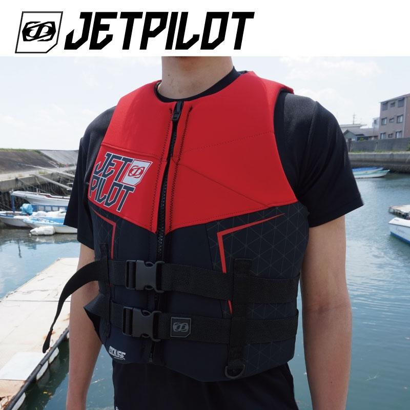 【25%OFF】JP8218 ジェットパイロット THE CAUSE ネオベスト JCI認定品 メンズ ライフジャケット Jetpilot ジェットスキー ウエイク