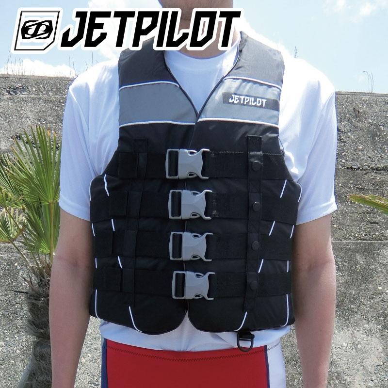 ジェットパイロット ライフジャケット STRIKE 4バックル Jetpilot ジェットスキー  水上バイク ナイロン JP8301