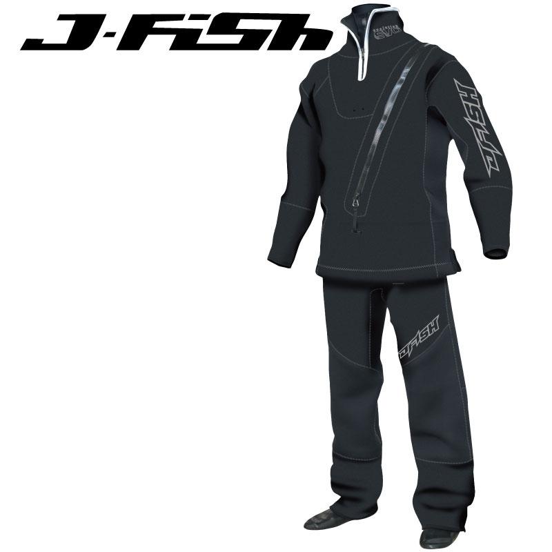 ジェイフィッシュ ウエットドライスーツ ソックスタイプ ネオプレーンシール ジェットスキー ウエイクボード 冬用 ウエットスーツ