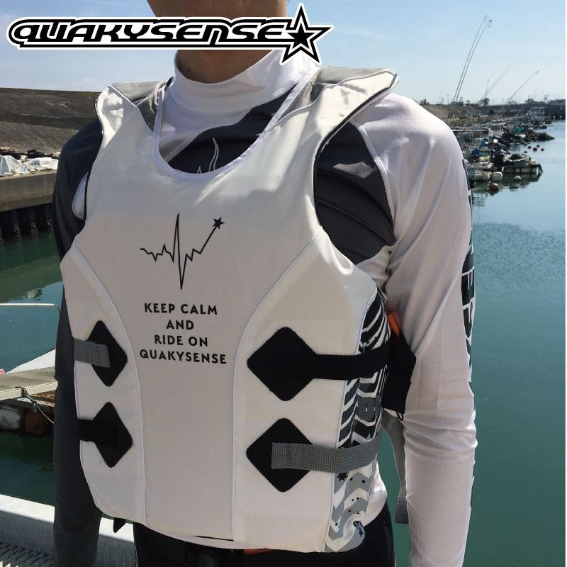 【30%OFF】1クエーキーセンス イフジャケット BEAT ビート プルオーバー ジェットスキー 水上オートバイ マリン 救命胴衣 特殊