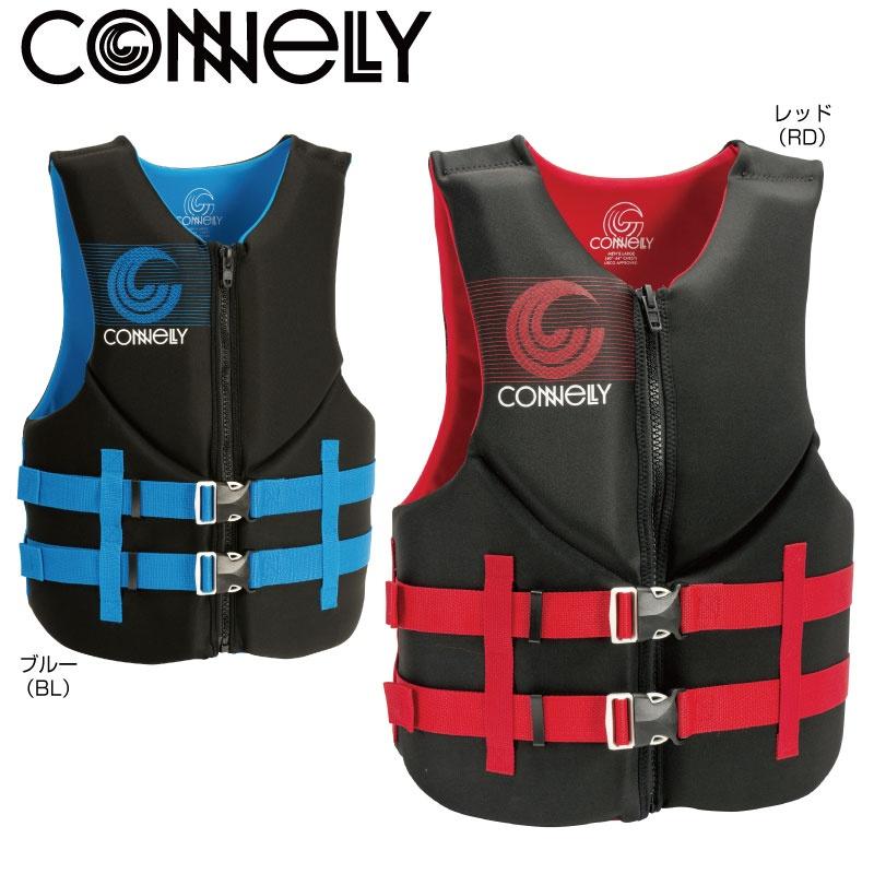 【2019新作】 コネリー PROM メンズ JCI認定OK CONNELLY コネリー ライフジャケット 水上オートバイ ジェットスキー PWC