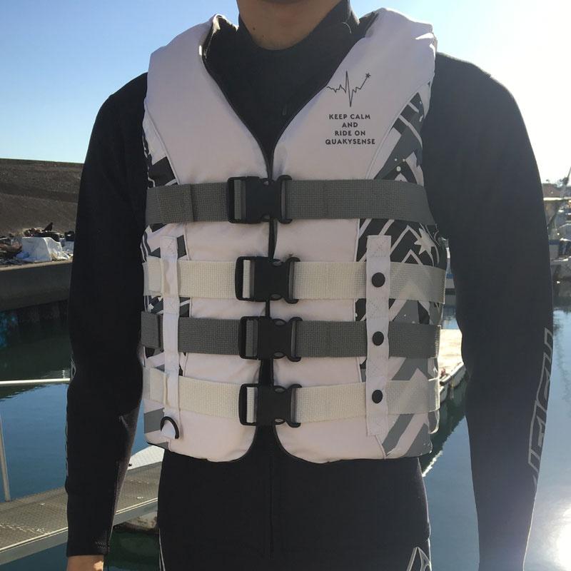 予約 【2019新作】19BB クエーキーセンス BEAT ビート4バックル ライフジャケット JCI認定 quakysense ジェットスキー ライフベスト 救命胴衣 水上オートバイ