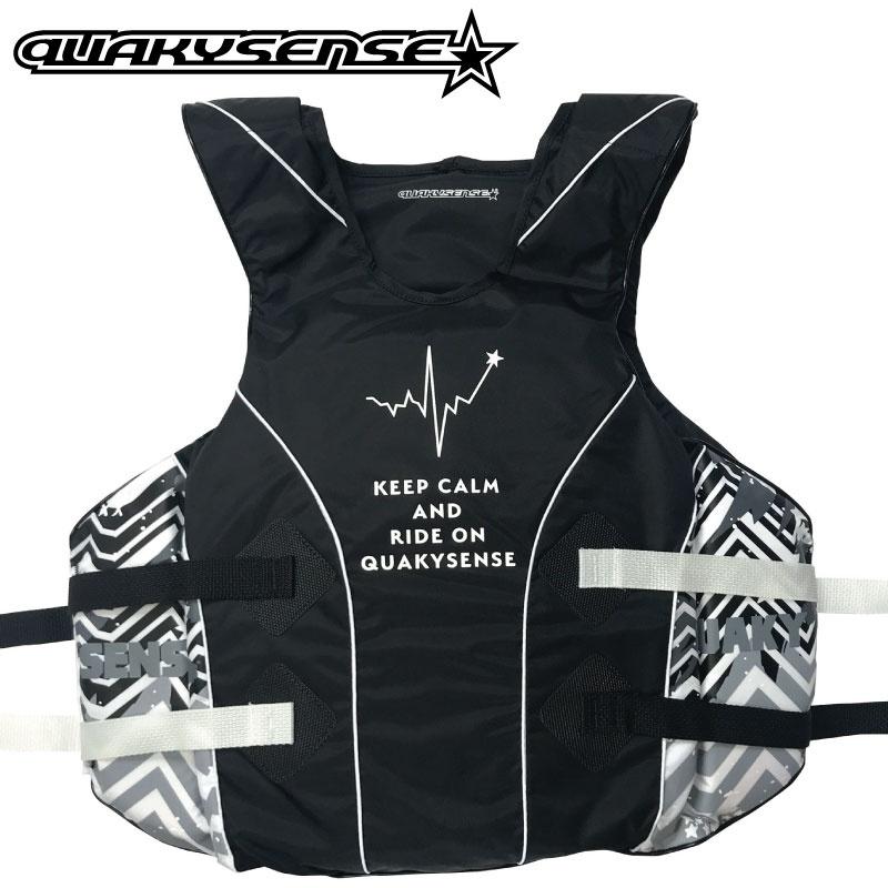 【2019新作】1クエーキーセンス ライフジャケット BEAT ビート プルオーバー ジェットスキー 水上オートバイ マリン 救命胴衣 特殊