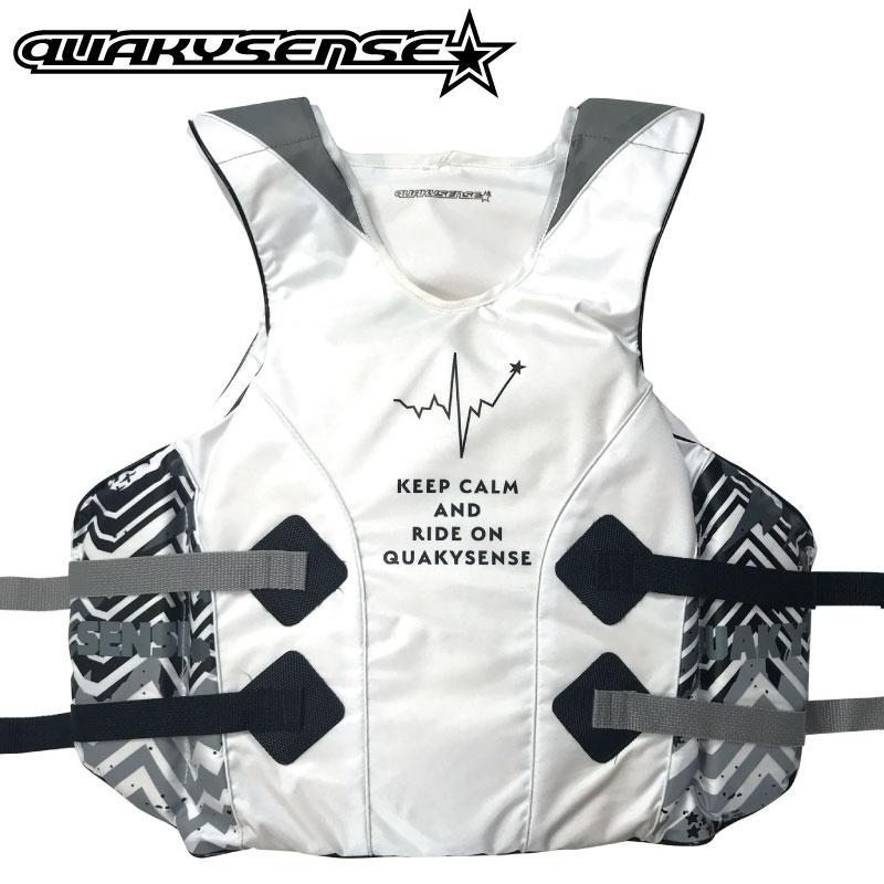 【2019新作】1クエーキーセンス イフジャケット BEAT ビート プルオーバー ジェットスキー 水上オートバイ マリン 救命胴衣 特殊