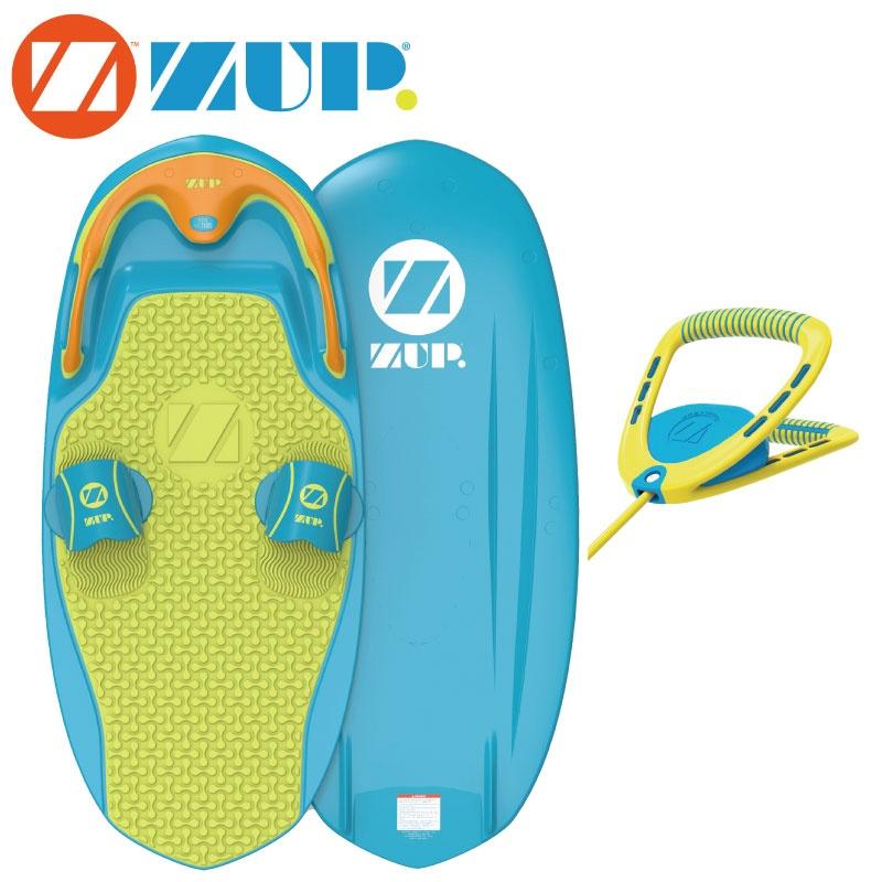 ZUP BOARD2 BOARD2 ザップボード2 ブルー×イエロー サーフ ボード&ハンドルラインセット 39008 バナナボート 39008 ウエイクボード サーフ, 豊郷町:084d5396 --- officewill.xsrv.jp