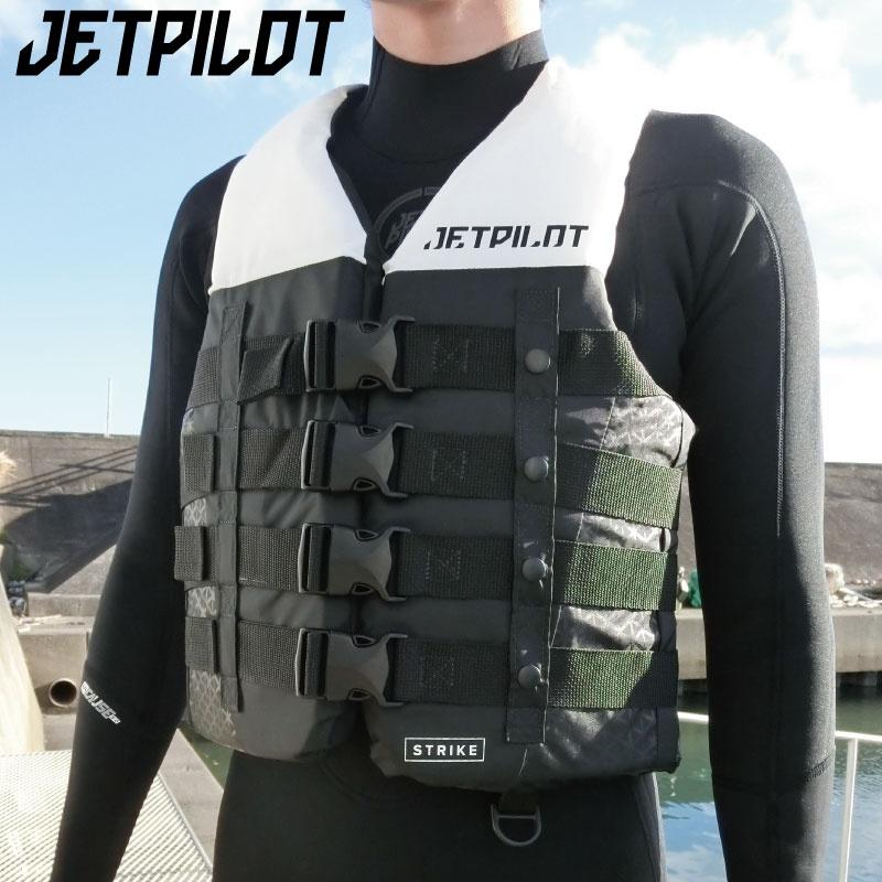 【2019新作】ジェットパイロット 正規品 STRIKE ライフジャケット 4バックルベスト JCI認定 ホイッスル付 コーストガード ジェットスキー Jあ19126