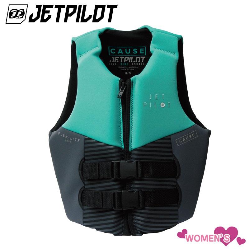 【2019新作】特殊 ジェットパイロット CAUSE 女性 ネオベスト JCI認定品 ライフジャケット Jetpilot ジェットスキー ウェイクボード SUP バナナボート