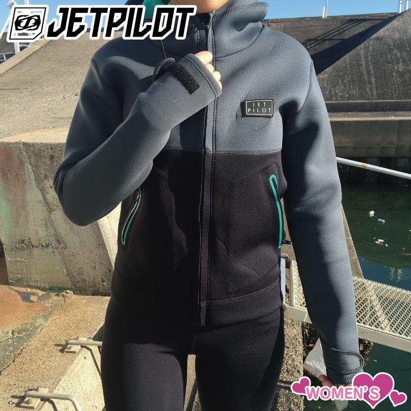 2019新作 ジェットパイロット TOUR COAT マリンコート 女性用ジャケット Jetpilot ジェットスキー マリンジェット ウエットスーツ