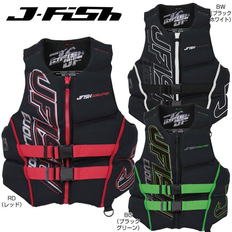 J-FISH プライスダウン ジェフィッシュ 超歓迎された エボリューション EVOLUTION ライフジャケット ライフベスト 水上オートバイ 水上バイク ジェットスキー 新作多数 救命胴衣