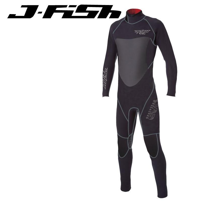 【33%OFF】ジェイフィッシュ セミドライスーツ メンズ ウエットスーツ ジェットスキー サーフィン SUP ダイビング.スノーケル ウエイクボード