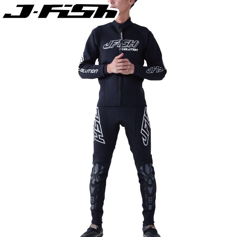 【2019新作】JWS-391ジェイフィッシュ エボリューション EVOLUTION ウエットスーツ メンズ ジェットスキー 水上オートバイ