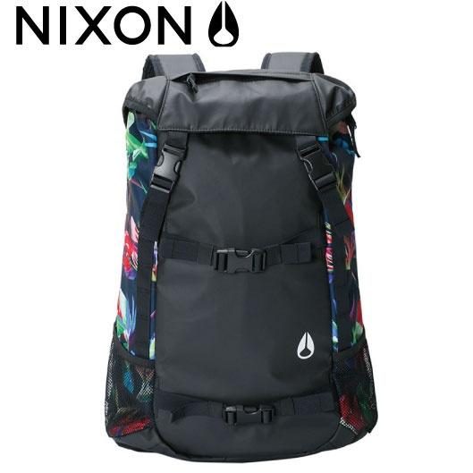 ニクソン NIXON リュック バックパック スケート ランドロック2 LANDLOCK II BACKPACK ブラック/パラダイス NC19531633-00
