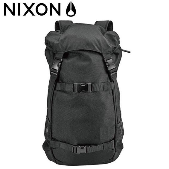 ニクソン NIXON LANDLOCK SE ALLBLACK リュック バックパック スケボー サーフィン ランドロック2 BACKPACK ブラック/