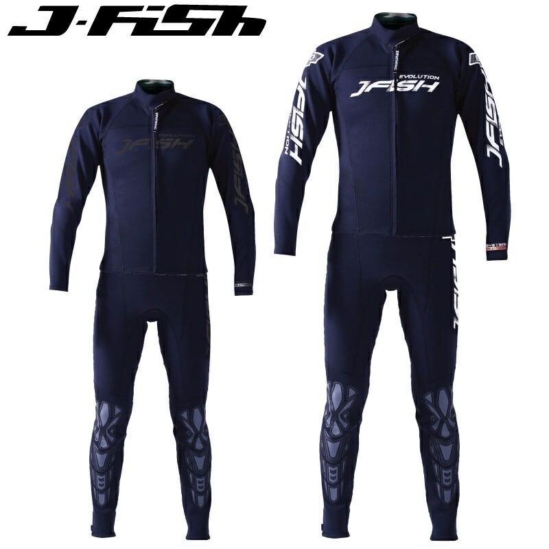 <title>J-FISH JWS-401 ジェイフィッシュ エボリューション EVOLUTION ウエットスーツ メンズ ジェットスキー ツーピース コスパ 水上オートバイ 時間指定不可</title>